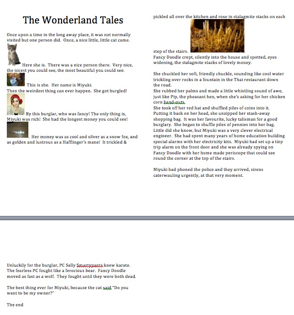 the wonderland tales